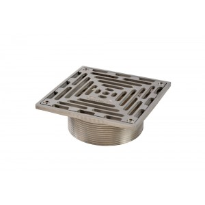 150x150 Square Grating - Threaded