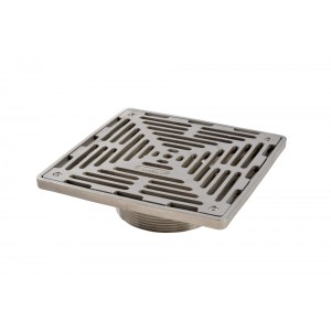 200x200 Square Grating - Threaded