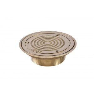 150mm Circular Rodding Eyes - Threaded - Vinyl Floors